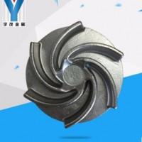 叶轮水泵配件加工 不锈钢精密铸造叶轮