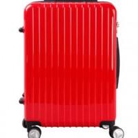 OEM定做拉杆箱 时尚万向轮行李箱密码锁 喜庆红登机箱20寸