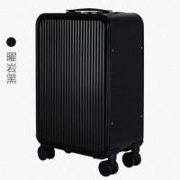 新款前开盖拉杆箱 全铝镁合金旅行箱 商务登机行李箱 一件代发