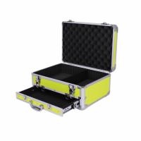 厂家定制铝合金专业手提化妆箱 多层时尚锁扣工具箱收纳箱