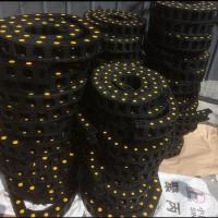 厂家定做坦克拖链 尼龙工程桥式封闭穿线尼龙塑料电缆拖链