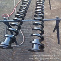 管式无轴螺旋叶片输送机 滚筒绞龙叶片上料机