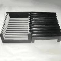 厂家定制 柔性风琴式防护罩 机床导轨伸缩防护罩 三防布防尘罩