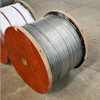镀锌钢绞线 碳结构钢圆形葡萄架镀锌钢丝