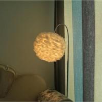 北欧现代简约客厅卧室温馨花儿朵云朵创意儿童房艺术灯羽毛落地灯