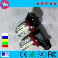 超亮汽车灯H11-12SMD+1CREE-11W LED雾灯
