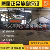 专业生产网带炉热处理生产线 连续式热处理生产线