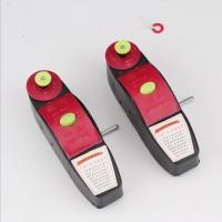 木工划线工具手卷式半自动装修红黑色塑料工发样式墨斗 弹线器