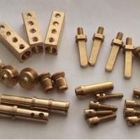 生产加工铜螺丝铜螺母铜套铜件铜接头非标铜件车床加工铜件