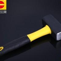 包塑柄石工锤 木工钳工锤多功能安装锤 建筑工具地质锤子