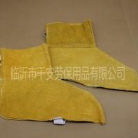 厂家直销牛皮二层短护脚脚盖劳保用品防护