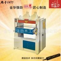 厂家直销木工机械 单面压刨机 双丝杆 重型高速 强劲牌