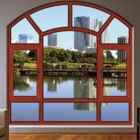 高档铝合金豪宅隔音防水60系列外平开窗厂家直销批发