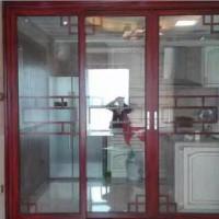高档铝合金厨房隔断80-80推拉门工厂直销