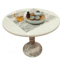 石材桌子 椅子 茶几 电视柜 纯手工打造精美大理石家具