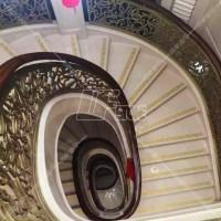定做天然大理石楼梯踏步板 台阶石 楼梯石材厂家定制承接工程