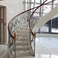 大理石楼梯踏步 工程别墅室内精装石材订做