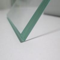 高品质透明钢化夹层玻璃 4+4mm夹胶玻璃厂家定制