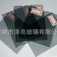 批发黑色玻璃3MM黑色镀膜玻璃厂家直销