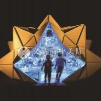 光折纸 景观雕塑 灯光亮化 灯光装置 广场装置 景观工程