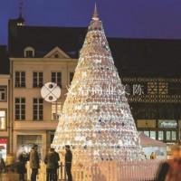 陶瓷盘圣诞树 装置艺术 商业美陈 圣诞美陈 圣诞装置