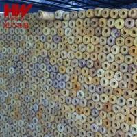 岩棉保温贴箔材料 高密度贴铝箔岩棉管