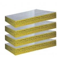 厂家批发离心玻璃棉板 复合铝箔玻璃棉板 防火吸音隔热玻璃棉板