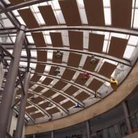 吸音体厂家 空间吸声体 体育馆会议厅天花吊顶防火隔音吸音材料
