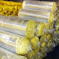 厂家直销高密度超细离心玻璃棉毡保温吸音铝箔阻燃玻璃棉卷毡