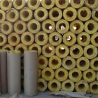 耐高温玄武岩岩棉管壳50mm加铝箔岩棉保温材料