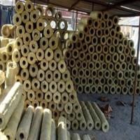 高密度岩棉管防火隔热岩棉管道保温管防水岩棉管壳