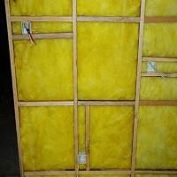 憎水玻璃棉板阻燃防火吸音玻璃棉板电梯井吸声玻璃棉板
