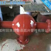 生产供应陶瓷复合耐磨管道三通 耐磨球形三通 阀门球形三通