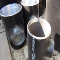 碳钢异径无缝焊接三通114*89*3碳钢异径直角变径三通定制