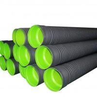 聚乙烯HDPE双壁波纹管 塑料排水管材