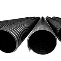 安徽钢带管 钢带增强聚乙烯PE螺旋波纹管