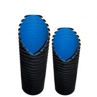 双壁波纹管郑州市排水管塑料管材A管企标S2