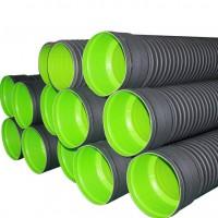 HDPE双壁波纹管排水管塑料管材A管国标SN8 DN400