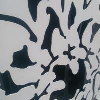 崇匠建材 雕刻铝单板装潢 木纹铝单板