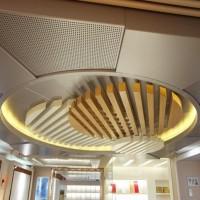 崇匠建材 异型铝方通装潢 造型铝方通隔断