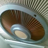 弧形铝方通装潢 异型铝方通吊顶
