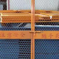 建筑工地 施工电梯门升降机楼层 人货电梯防护门