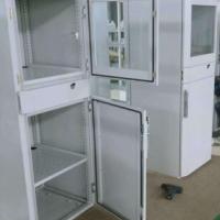 非标钣金加工户外配电柜 户外电气柜钣金外壳 低压配电柜