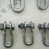 国标U型挂环 热镀锌U型挂环 电力金具U型环