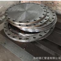 生产丝扣法兰 国标碳钢大口径法兰片 平焊法兰盘 高压法兰