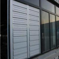 手动百叶窗电动百叶窗定制防雨百叶窗 铝合金升降百叶窗