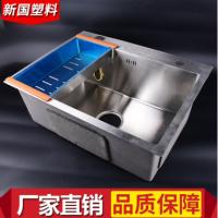 加厚不锈钢洗菜盆不锈钢双槽手工洗菜盆