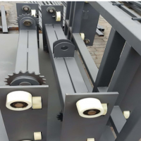 液压货梯导轨式升降机简易固定升降平台自动升降货梯