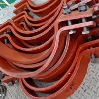 电厂化工厂用管卡 管托 支吊架 全弧型抗震管夹