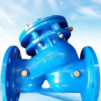多功能水泵控制阀 球墨铸铁法兰控制阀 流量阀门